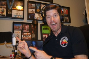 Rich Soares shows how much he enjoys podcasting.