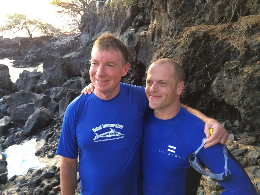 Terry and Tim Ferris in Kona