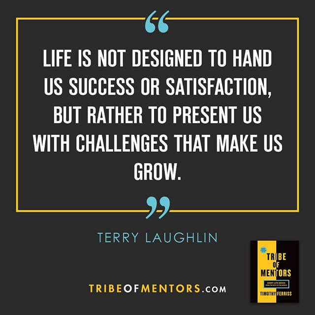 Terry quote Tribe of Mentors