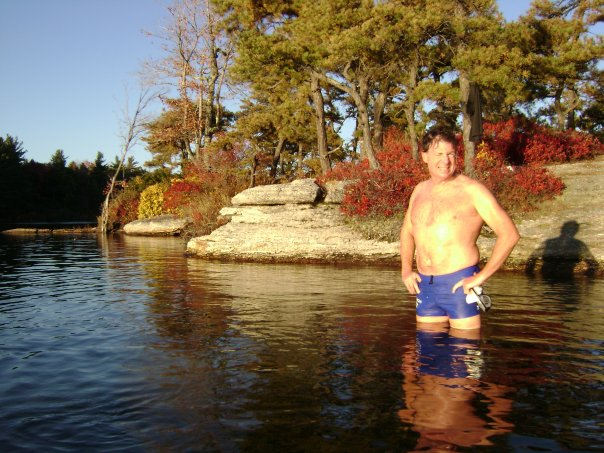 Dad Nov 09 Awosting 7- post swim