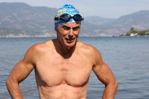 Fromberg Open water swim after exit